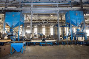 2 Furan resin sand iron casting lines  (Australia)