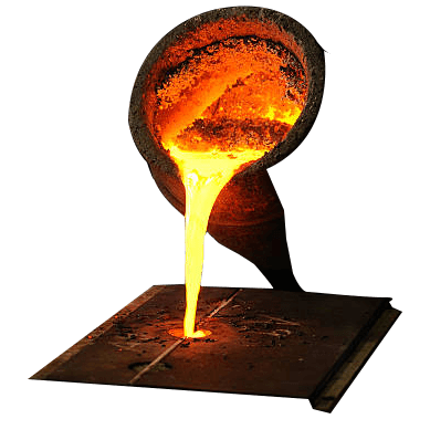 Inductotherm melting furnaces