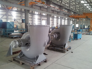 Pump 36000m3/h - Horizontal type