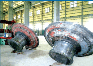Head of shell for Cement mill