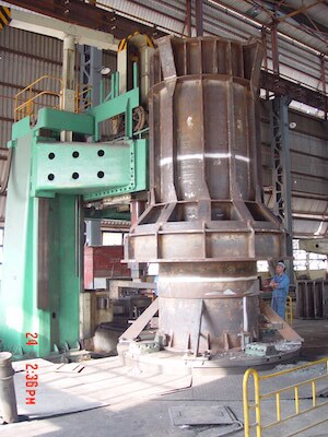Preheater tower
