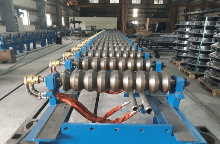 Roller - Lining up Roller Assembly- Steel laminating equipment