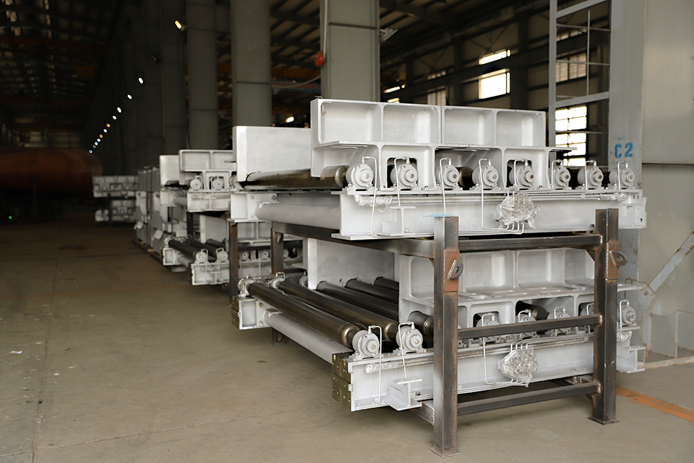 Steel laminating equipment Danieli