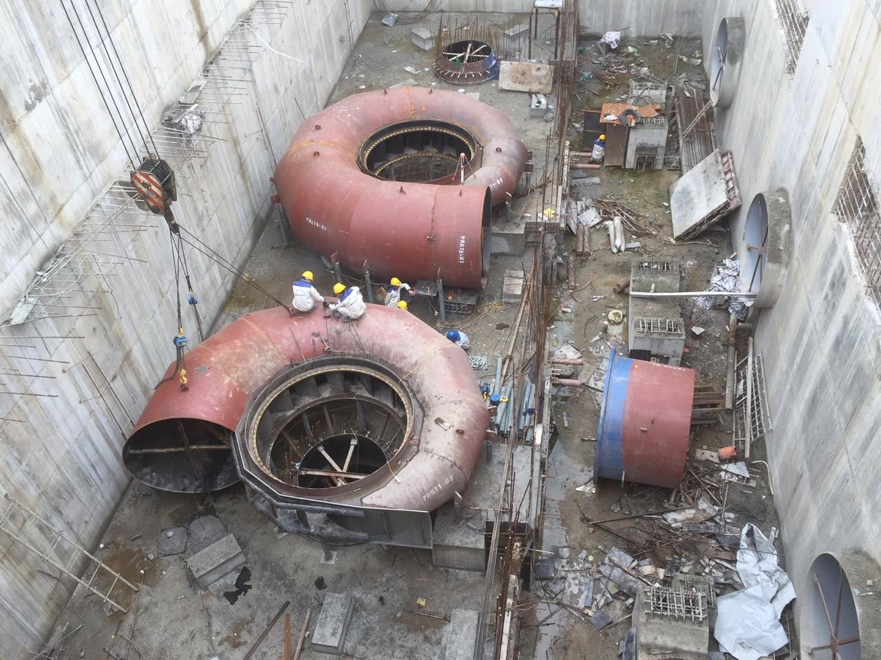 Spiral Casing Assembly - HydroPower Projects