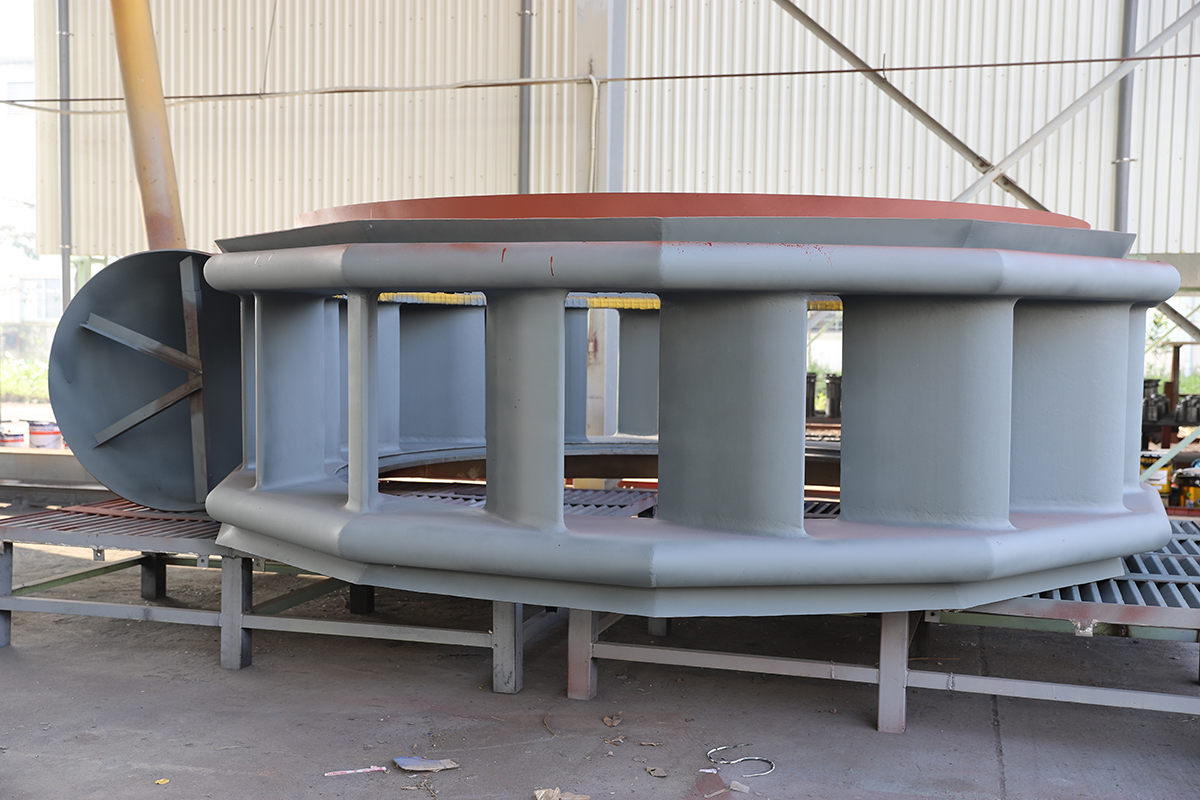 Draft tube liner - Hydropower projects Voith