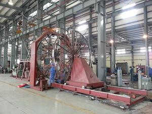 Máy hàn lồng CNC