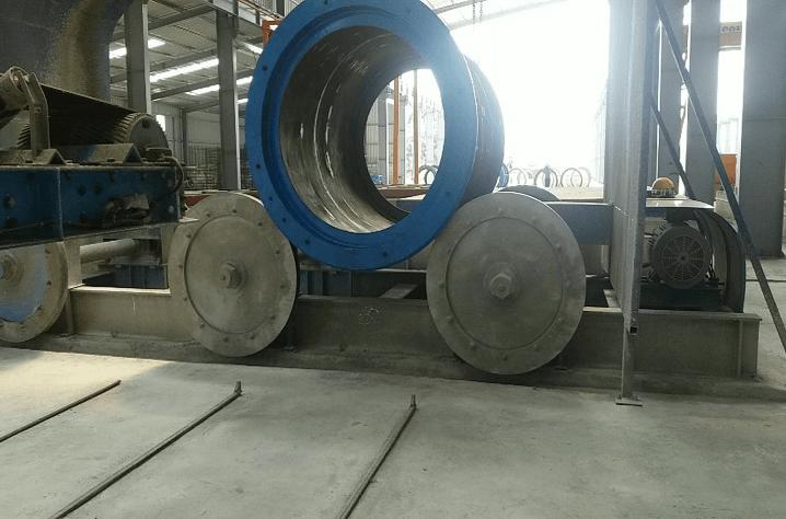 Large drain pipe