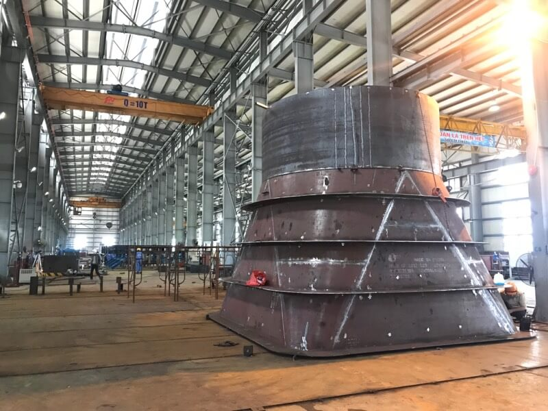 Stay ring - Spiral Casing Assembly - HydroPower Projects
